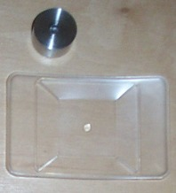 Tray & Calibration Weight