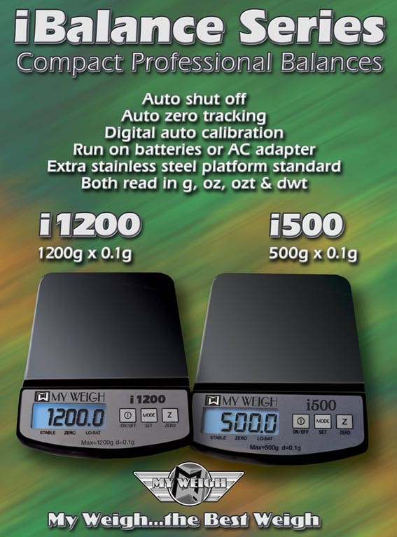 Black Versions of i1200 & i500 Model Scales